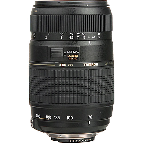 lenses tamron nikon fit tamron af 70 300mm f 4 5. Black Bedroom Furniture Sets. Home Design Ideas