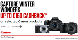 Canon Winter cashback