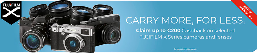 Fujifilm 200 euro cashback