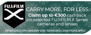 Fujifilm 300 cashback