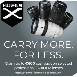 up to 600 euro cashback fujifilm
