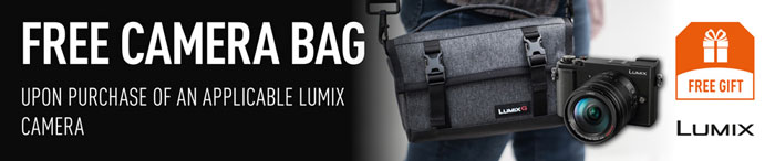 Panasonic promotion - free bag