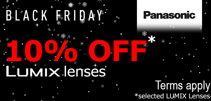 1-% Off panasonic LUMIX lenses