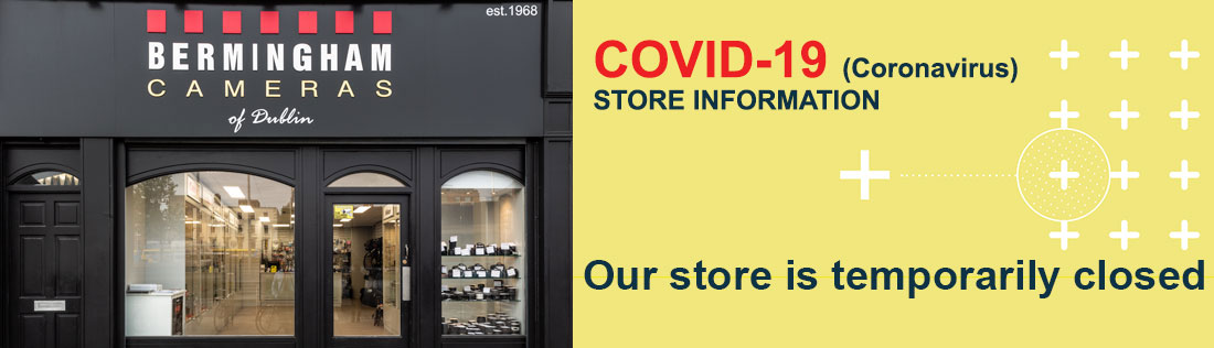 Store closed banner
