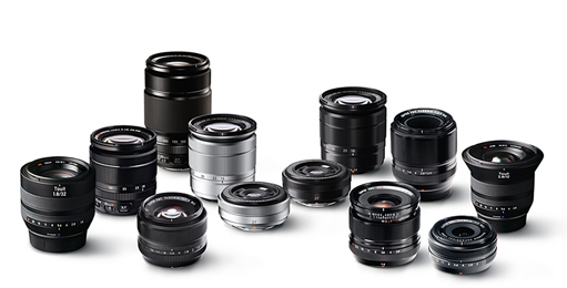 Fujinon X series lenses
