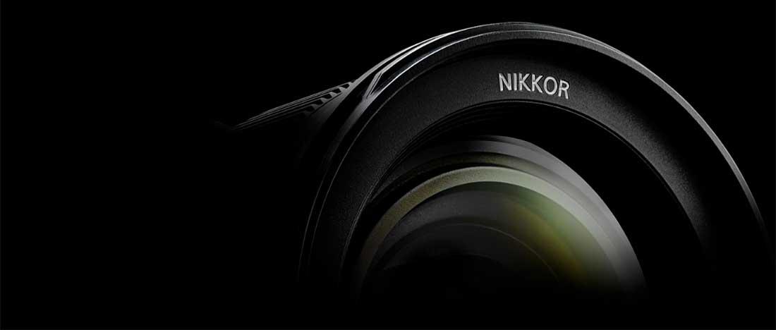Nikon categories banner