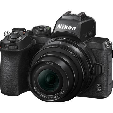 Nikon Z 50 Side Image