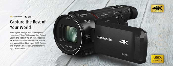 Panasonic HC-VXF1 Video Camcorder