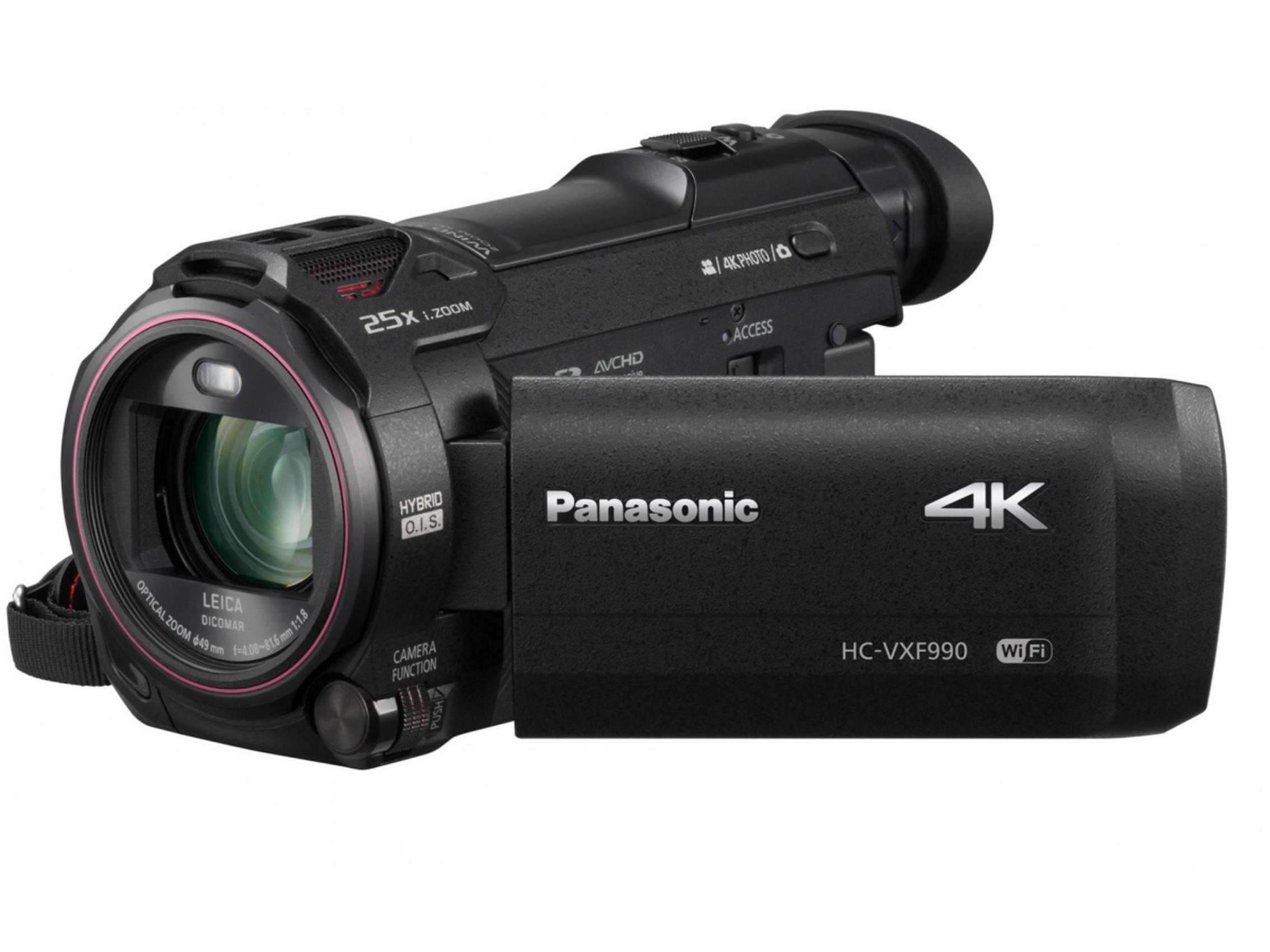 Cameras :: Camcorders :: Panasonic HC-VXF990 4K Camcorder