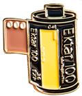Kodal Ektar 100 35mm Film Cannister Pin
