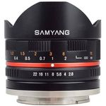 Samyang 8mm F2.8 UMC Fish-eye Fuji XF