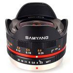 Samyang 7.5mm f/3.5 Fisheye (Micro Four Thirds) **(A-Stock)**