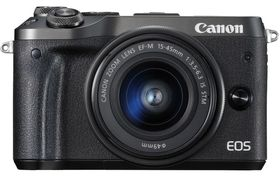 Canon EOS M6 & EF-M 15-45 IS STM