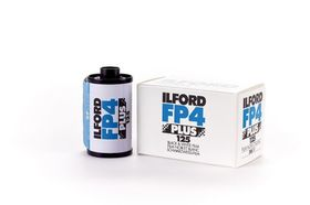 Ilford FP4 Plus Black and White Negative Film (35mm Roll Film)