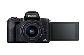 Canon EOS M50 Mark II + EF-M 15-45mm IS STM Live Streaming Kit