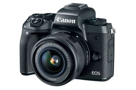 Canon EOS M5 & EF-M 15-45 IS STM & EF Mount Adapter