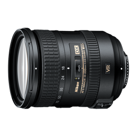 Nikkor 18-200mm zoom lens