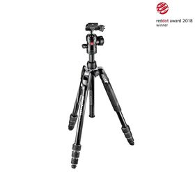 Manfrotto MKBFRTA4BK-BH Befree Advanced Aluminum Travel Tripod twist, ball head