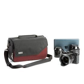 Think Tank Mirrorless Mover 25i Camera Bag in Deep Red