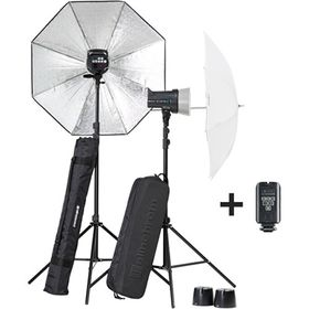 Elinchrom D-LITE RX 2/2 Umbrella To Go Kit