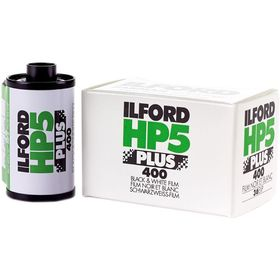Ilford HP5 Plus Black and White Negative Film (35mm Roll Film)
