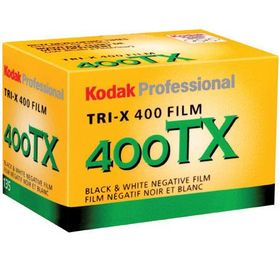 Kodak Professional Tri-X 400 Black and White Negative Film (35mm Roll Film, 36 Exposures)
