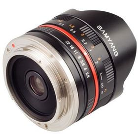 Samyang 8mm F2.8 UMC Fish-eye Fuji XF