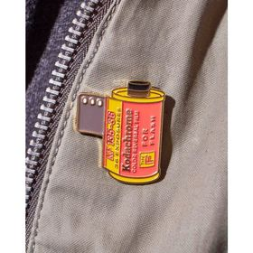 Kodachrome Type F for Flash 35mm Film Cannister Pin