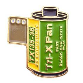 Kodak Tri-X Pan 400 35mm Film Cannister Pin
