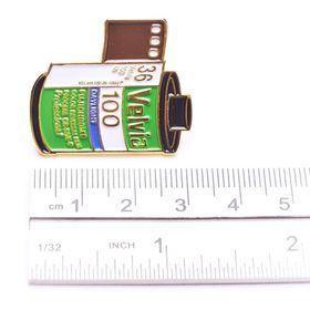 Fujifilm Velvia 100 35mm Film Cannister Pin