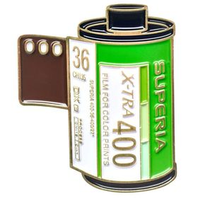 Fujifilm Superia 400 35mm Film Cannister Pin