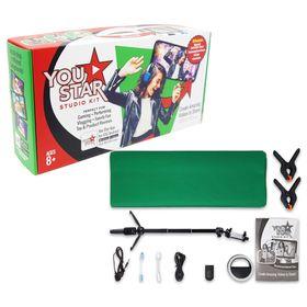 You Star Studio Kit Green Screen Studio Kit for Kids