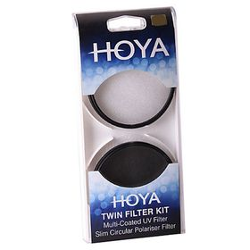 Hoya 52mm UV Filter & Circular Polariser Twin Kit