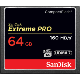 SanDisk Extreme PRO CompactFlash 64GB