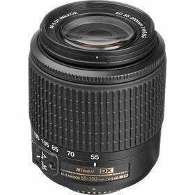 Nikkor 55-200mm zoom lens