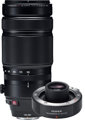 Fujifilm XF 100-400mm LM OIS WR + XF 1.4X TC WR TELECONVERTER